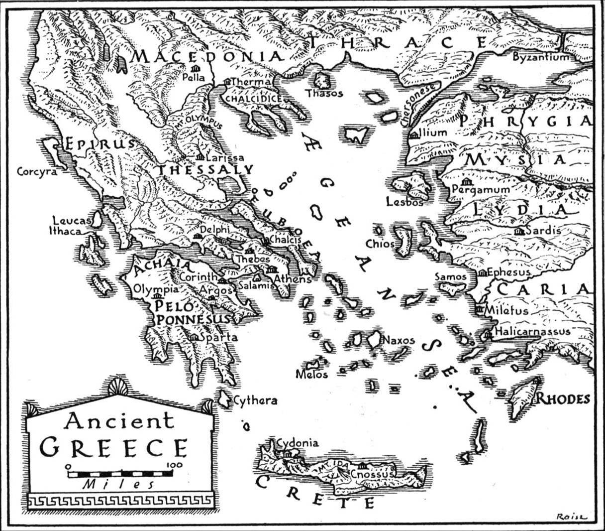 Kappi online storia for Cartina della grecia antica da stampare